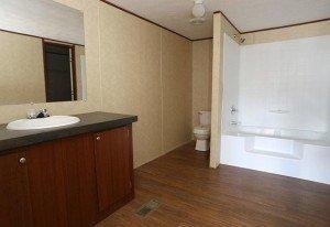 La Lone Star 3/2 casa móvil baño principal