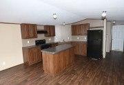 Fleetwood Berkshire 16723B casa móvil cocina