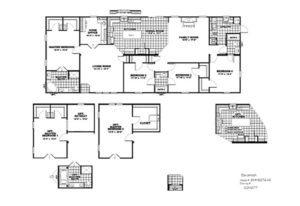 CMH Schult Savannah Mobile Home Floor Plan