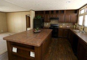 Foto de casa móvil Solution SLT28764A isla de cocina