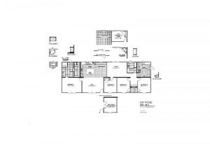 Foto de casa móvil Solution SLT28764A plano arquitectónico