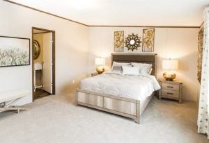 TruMH Tyson Pride Mobile Home Master Bedroom