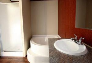 Fleetwood Weston 16763N Mobile Home Master Bathroom