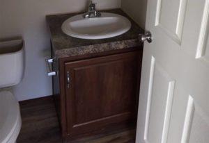4/4 Fleetwood Weston Mobile Home Bathroom