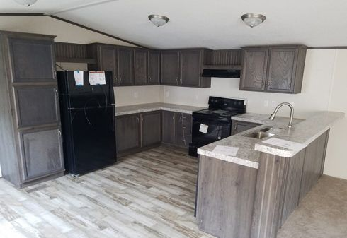 Fleetwood Weston 16763N Mobile Home Kitchen