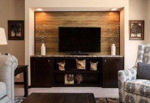 CMH Patriot 3/2 de doble ancho por $74,838 casa móvil sala de estar televisión