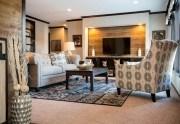 CMH Patriot 3/2 de doble ancho por $74,838 casa móvil sala de estar
