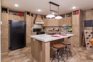 Sulphur Springs Colonial COL32523V casa móvil cocina