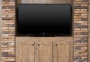 Sulphur Springs Colonial Mobile Home Entertainment Center