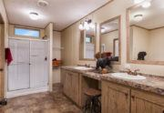 Sulphur Springs Colonial Mobile Home Master Bathroom