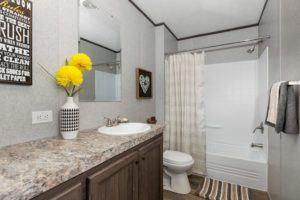 CMH King Mobile Home Master Bathroom