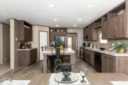CMH King Mobile Home Kitchen