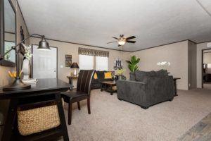 CMH King Mobile Home Living Room