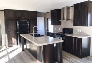 The Resolution RSV16763X Mobile Home Kitchen