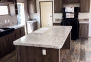 Fleetwood Weston 28523W Mobile Mobile Home Kitchen
