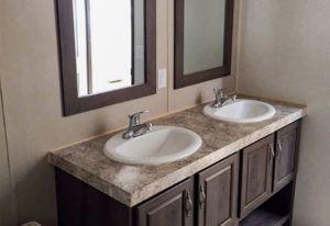 Fleetwood Weston 28523W Mobile Mobile Home Master Bathroom