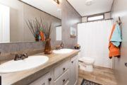 Smart Buy 16X803W Mobile Home Guest Bathroom