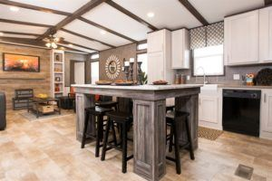 Smart Buy 16X803W Mobile Home Kitchen Island