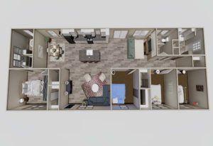 Clayton Nellie-3D Floor Plan