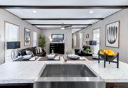 Inspiration-Kitchen Sink and Living Room