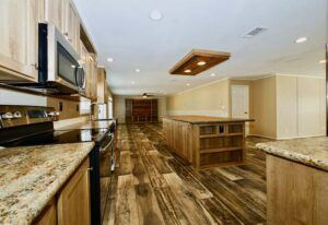 Meridian Malocello - Mobile Home - Kitchen