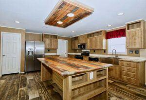 Meridian Malocello - Mobile Home - Kitchen Island