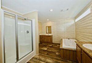 Meridian Malocello - Mobile Home - Master Bathroom