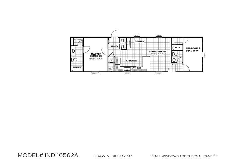 Mini Independent – IND16562A – Floor Plan