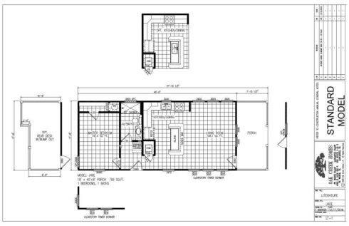 Meridian Egret J40EP8 - Smart Cottage - FP