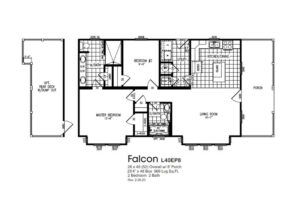 Meridian Falcon L40EP8 - Smart Cottage - FP