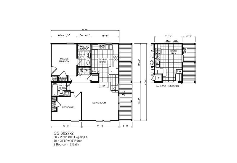 Coastal 27-2 – Floor Plan