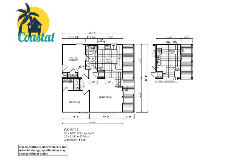 Coastal 27 – Floor Plan