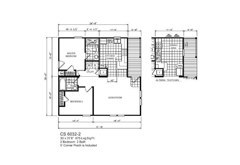 Coastal 32-2 – Floor Plan