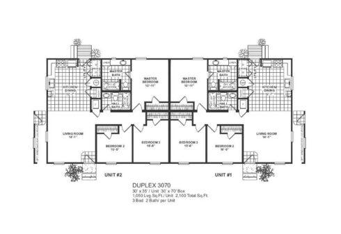 Meridian Duplex 70 - 3070 - FP
