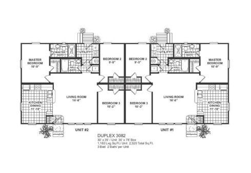 Meridian Duplex 82 - 3082 - FP
