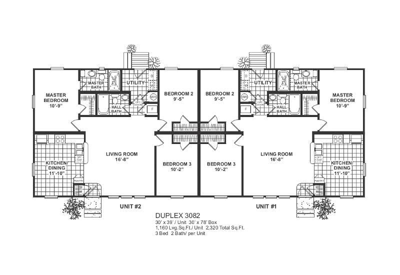 Duplex 82 – Floor Plan