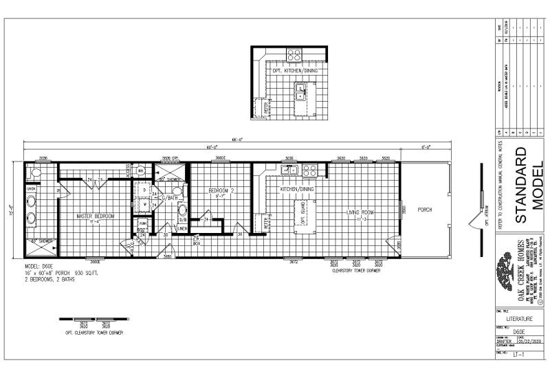 Robin Plus – D60E — Floor Plan