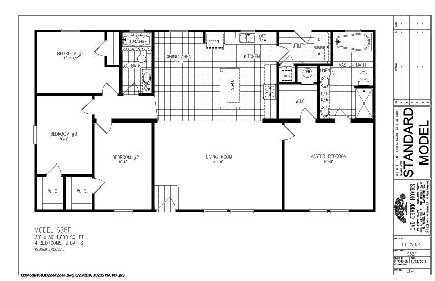 S56F – Cabot – Floor Plan