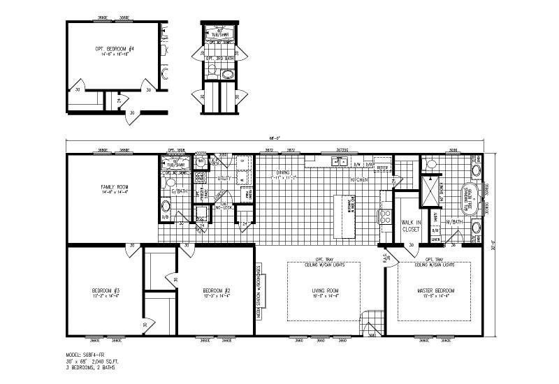 S68F4-FR – Nicollet 68 – Floor Plan