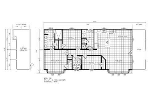 Meridian Swan L52EP8 - Smart Cottage - FP