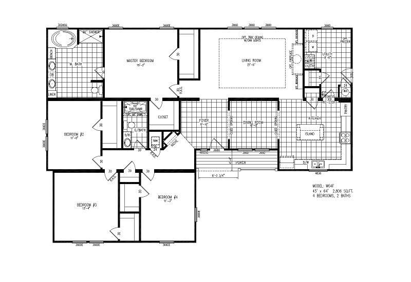 W64F – Verrazzano – Floor Plan