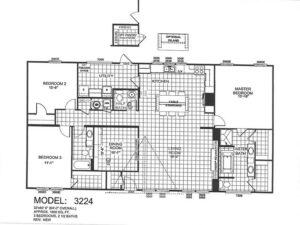 Meridian Country Home - 3224 - FP