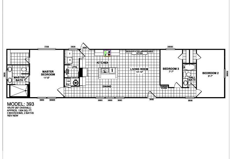 De La Cosa – 393 — Floor Plan