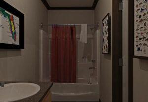 Fleetwood Berkshire 62 - BS32624B - Bathroom