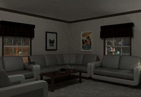 Fleetwood Berkshire 62 - BS32624B - Living Room 2