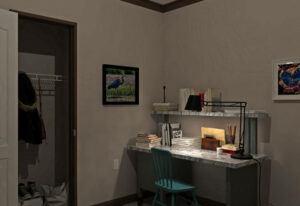 Fleetwood Berkshire 62 - BS32624B - Bedroom 2