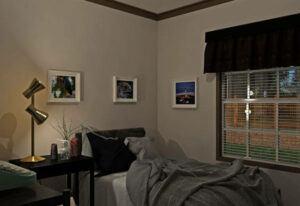Fleetwood Berkshire 62 - BS32624B - Bedroom 3