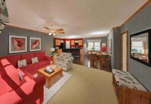 Fleetwood Weston 3252 - WE32524W - Living Room