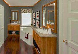 Fleetwood Weston 3252 - WE32524W - Bathroom
