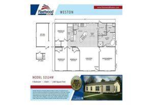Fleetwood Weston 3252 - WE32524W - FP